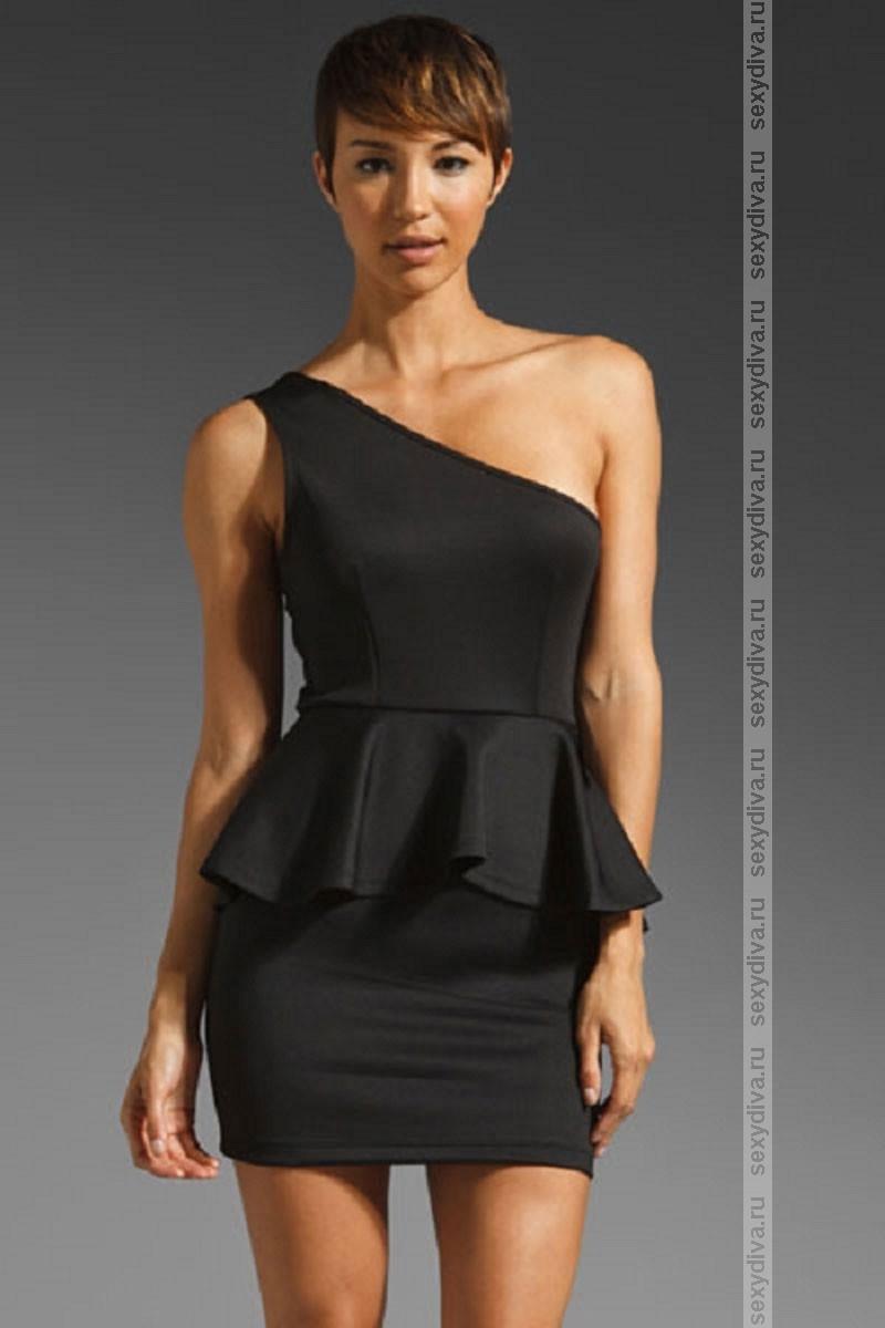 Модные Платья С Одним Плечом