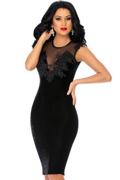 Платье с вышивкой большие размеры 786