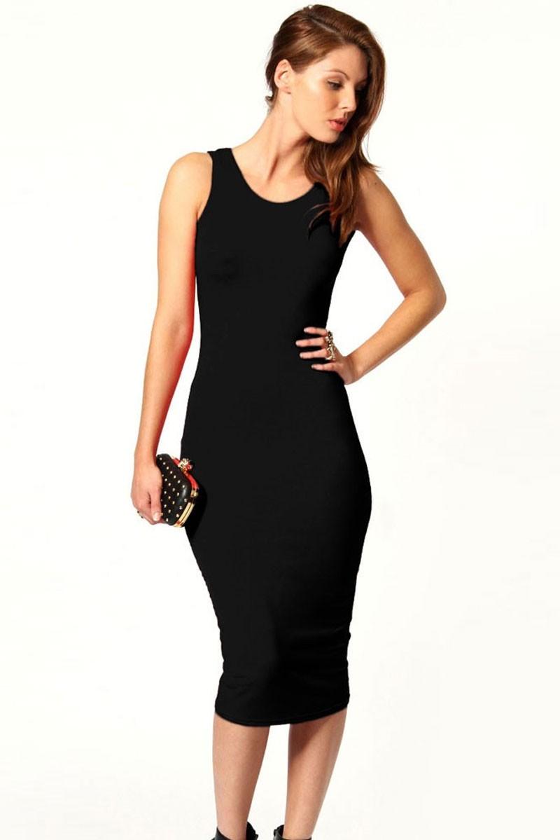Платье обтягивающее до колен фото