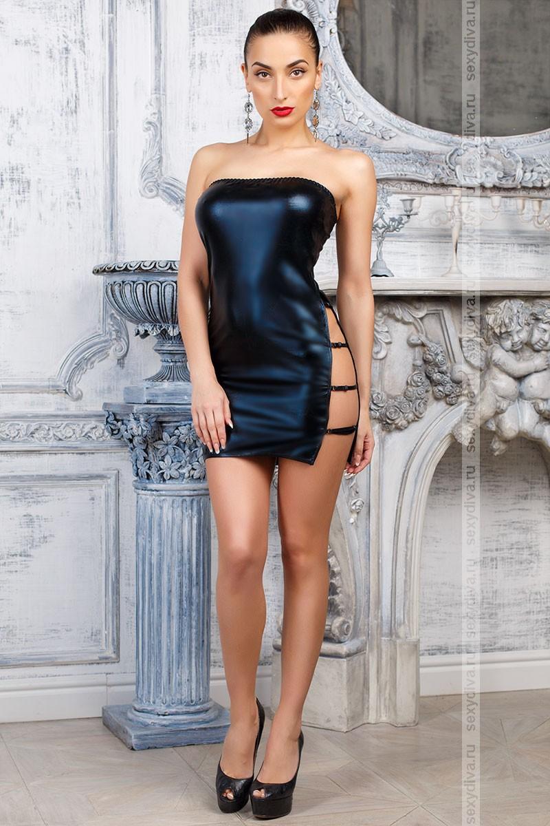 Купить Виниловое Платье