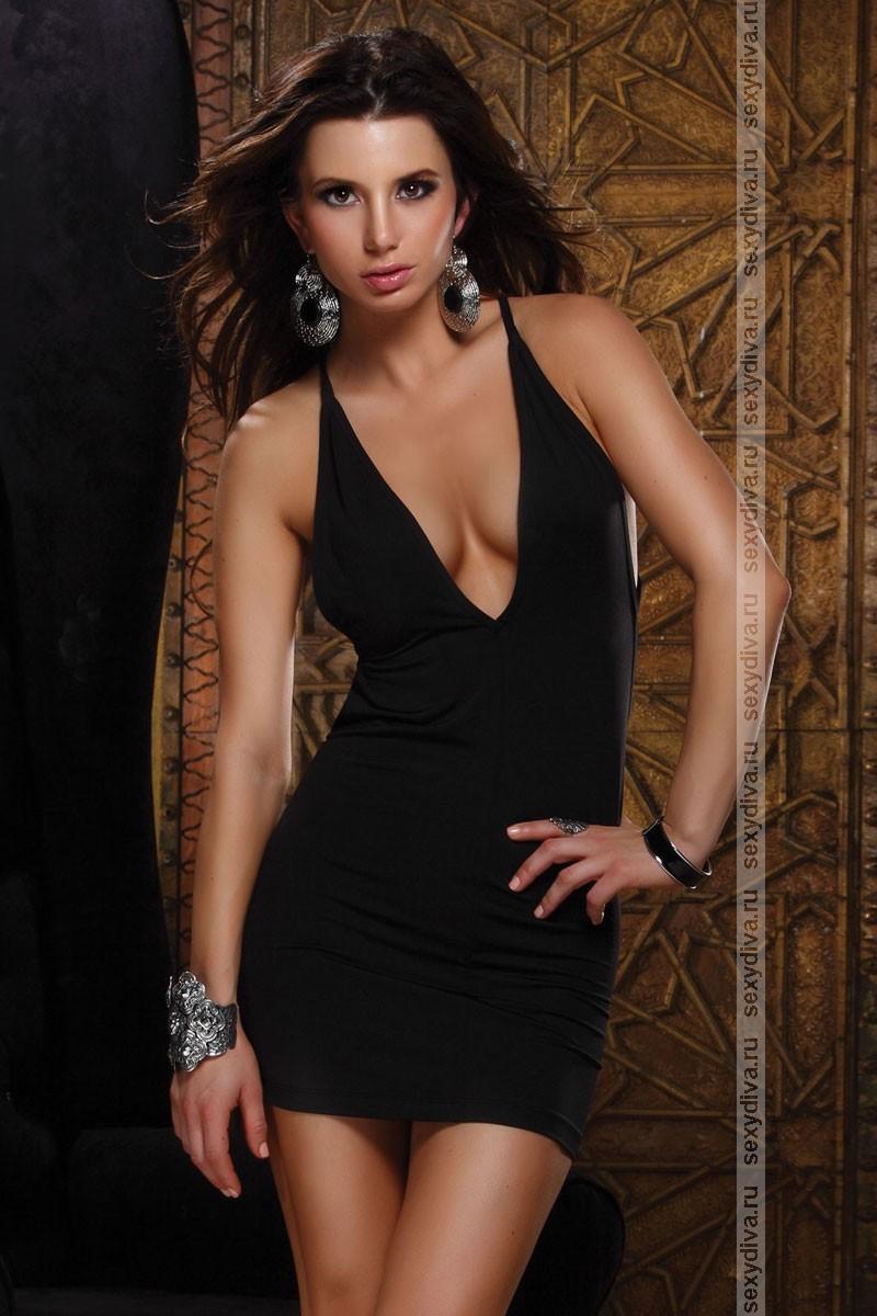 Купить Платье С Декольте Интернет Магазин